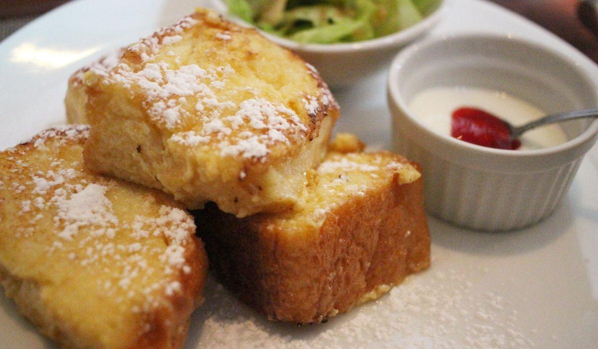 岡山市南区「洋食カフェもみじ堂本店」でモーニングのふわふわフレンチトーストを食べてきました!