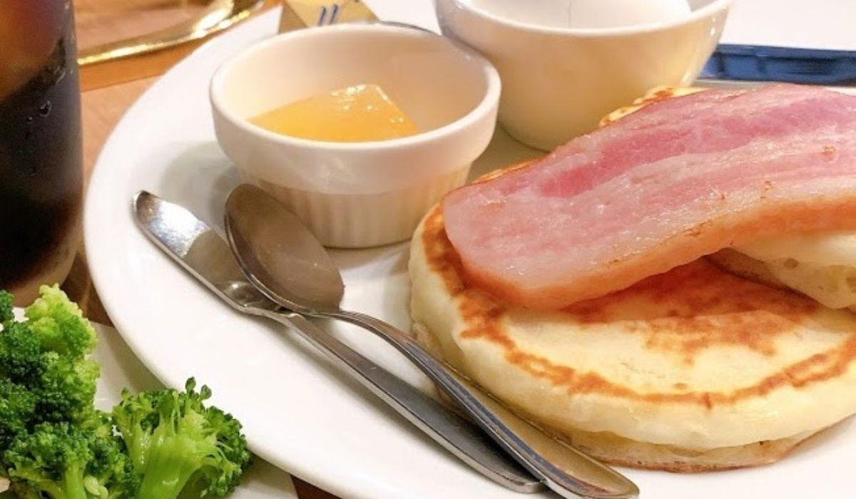 倉敷市松島「カフェ青山中庄店」のモーニングはサラダ食べ放題!タルト・焼き菓子も☆