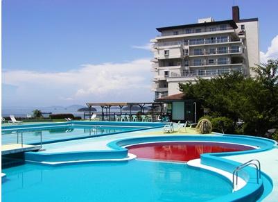 鷲羽グランドホテル プール