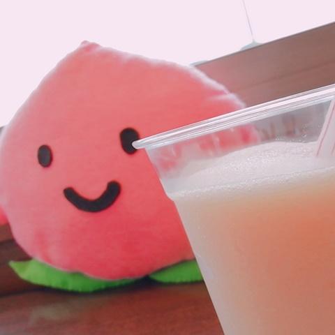 白桃スムージーソフトクリームなし