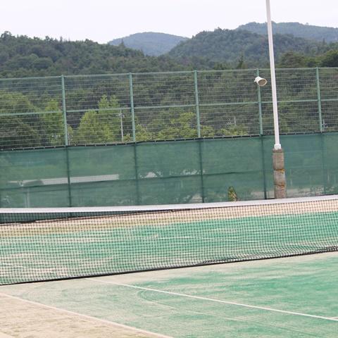 総社北公園陸上競技場テニスコート