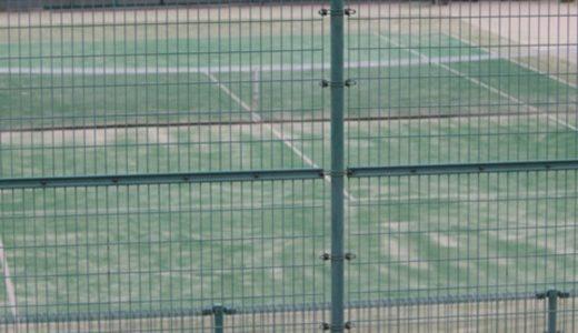 総社市北公園陸上競技場のテニスコートは料金も安いオムニコート!