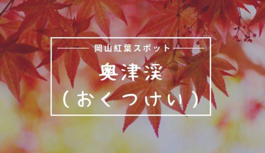 岡山県鏡野町奥津渓谷の紅葉見頃時期は?地図や住所・駐車場を調査!