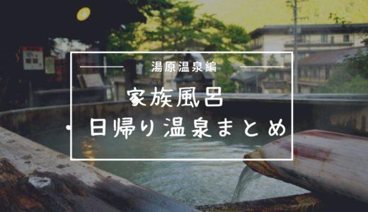 【湯原温泉編】家族風呂のある温泉※日帰りの有無や料金などまとめ